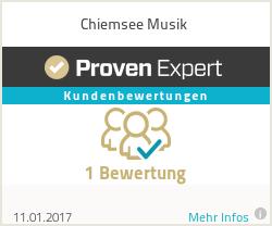 Erfahrungen & Bewertungen zu Chiemsee Musik