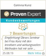 Erfahrungen & Bewertungen zu Corinna Kunz