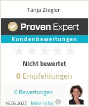 Erfahrungen & Bewertungen zu Tanja Ziegler
