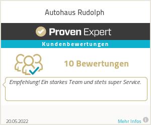 Erfahrungen & Bewertungen zu Autohaus Rudolph