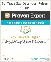 Erfahrungen & Bewertungen zu TUI TravelStar Ostendorf Reisen GmbH