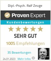Erfahrungen & Bewertungen zu Dipl.-Psych. Ralf Zeuge
