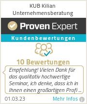 Erfahrungen & Bewertungen zu KUB Kilian Unternehmensberatung