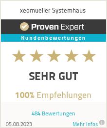 Erfahrungen & Bewertungen zu xeomueller Systemhaus