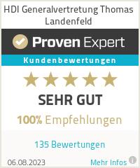 Erfahrungen & Bewertungen zu HDI Generalvertretung Thomas Landenfeld