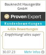 Erfahrungen & Bewertungen zu Bauknecht Hausgeräte GmbH