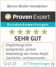 Erfahrungen & Bewertungen zu Benno Müller Immobilien
