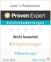 Erfahrungen & Bewertungen zu Juleo´s Partyservice