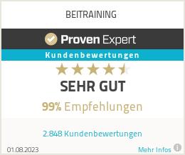 Erfahrungen & Bewertungen zu BEITRAINING