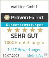 Erfahrungen & Bewertungen zu wattline GmbH