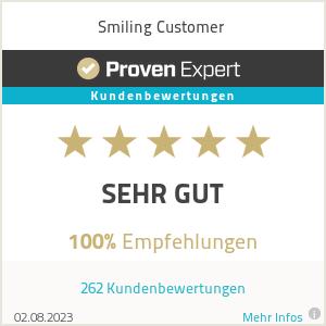 Erfahrungen & Bewertungen zu Smiling Customer