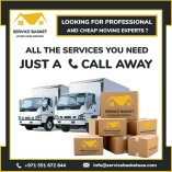 Service Basket UAE Movers and Packers in Sharjah