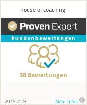 Erfahrungen & Bewertungen zu house of coaching