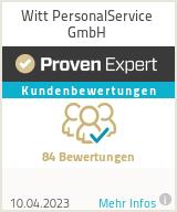 Erfahrungen & Bewertungen zu Witt PersonalService GmbH