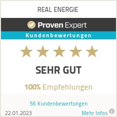 Erfahrungen & Bewertungen zu REAL ENERGIE