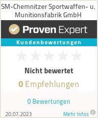 Erfahrungen & Bewertungen zu SM-Chemnitzer Sportwaffen- u. Munitionsfabrik GmbH