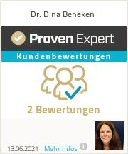 Erfahrungen & Bewertungen zu Dr. Dina Beneken