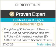 Erfahrungen & Bewertungen zu PHOTOBOOTH-IN
