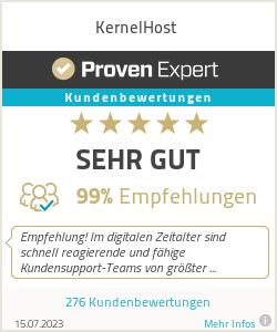Erfahrungen & Bewertungen zu KernelHost.de