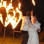 Tanja Feuerherz Feuershows