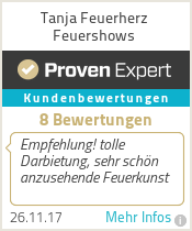 Erfahrungen & Bewertungen zu Tanja Feuerherz Feuershows