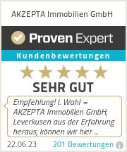 Erfahrungen & Bewertungen zu AKZEPTA Immobilien GmbH