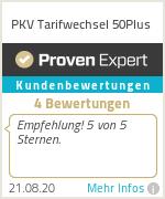 Erfahrungen & Bewertungen zu PKV Tarifwechsel 50+