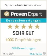 Erfahrungen & Bewertungen zu Sprachschule Aktiv - Wien