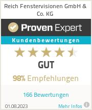 Erfahrungen & Bewertungen zu Reich Fenstervisionen GmbH & Co. KG
