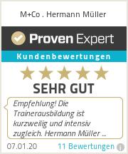 Erfahrungen & Bewertungen zu M+Co . Hermann Müller