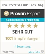 Erfahrungen & Bewertungen zu Sven Czeczatka EUBe-Consulting