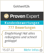 Erfahrungen & Bewertungen zu Goldwelt24