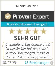 Erfahrungen & Bewertungen zu Nicole Weider