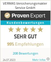 Erfahrungen & Bewertungen zu VERMAS Versicherungsmakler Service GmbH