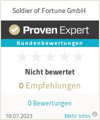 Erfahrungen & Bewertungen zu Soldier of Fortune GmbH