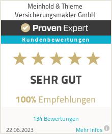 Erfahrungen & Bewertungen zu Meinhold & Thieme Versicherungsmakler GmbH