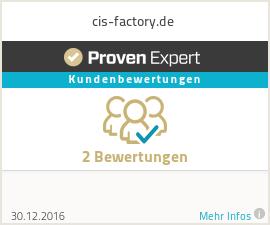 Erfahrungen & Bewertungen zu cis-factory.de