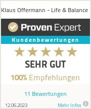 Erfahrungen & Bewertungen zu Life & Balance