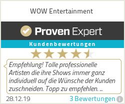 Erfahrungen & Bewertungen zu WOW Entertainment