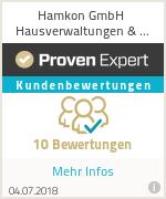 Erfahrungen & Bewertungen zu Hamkon GmbH Hausverwaltungen & Immobilien