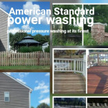 American Standard power washing