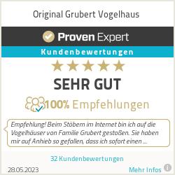 Erfahrungen & Bewertungen zu Original Grubert Vogelhaus