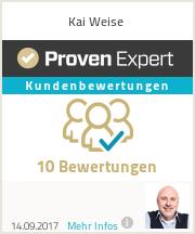 Erfahrungen & Bewertungen zu Kai Weise