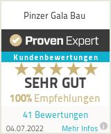 Erfahrungen & Bewertungen zu Pinzer Gala Bau