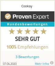 Erfahrungen & Bewertungen zu Cookay