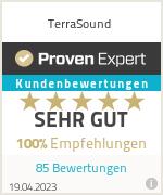 Erfahrungen & Bewertungen zu TerraSound