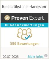Erfahrungen & Bewertungen zu Kosmetikstudio Hand:sam