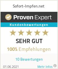 Erfahrungen & Bewertungen zu Sofort-Impfen.net