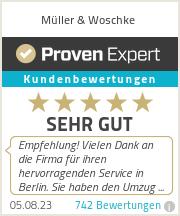 Erfahrungen & Bewertungen zu Müller & Woschke UG (haftungsbeschränkt)