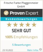 Erfahrungen & Bewertungen zu Frische Farbe Plaggenmeier GmbH